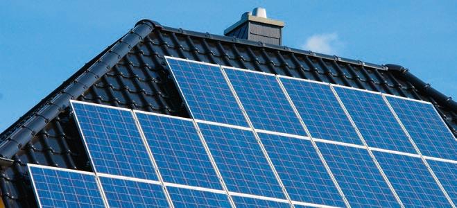 Regenerative Energien PV